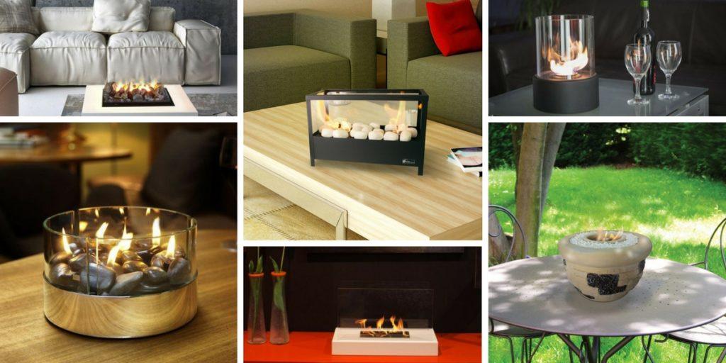 Modèles de cheminées de table