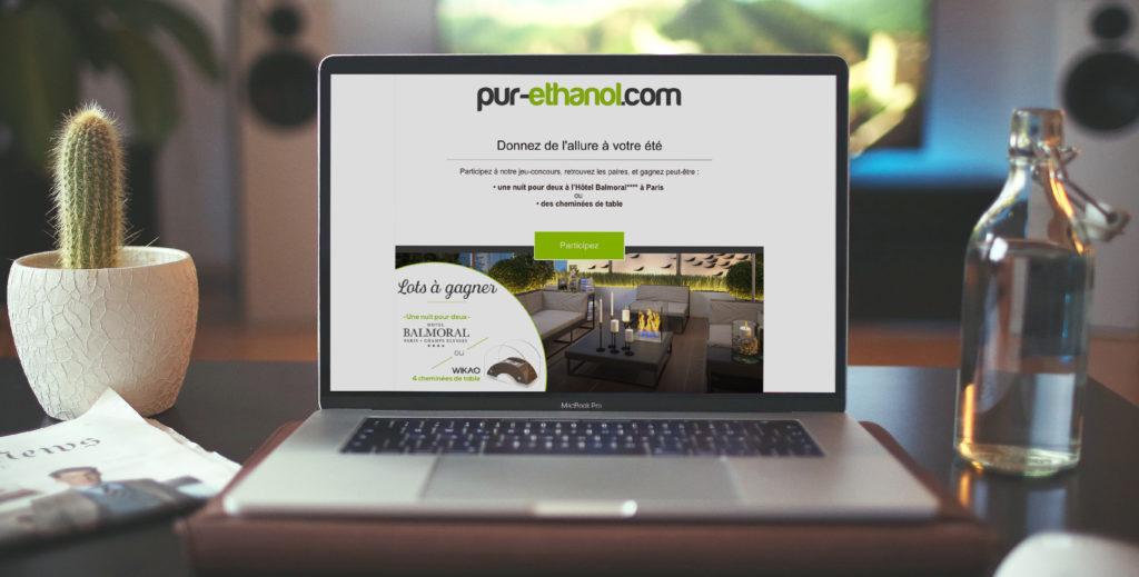 Site web pur-ethanol.com